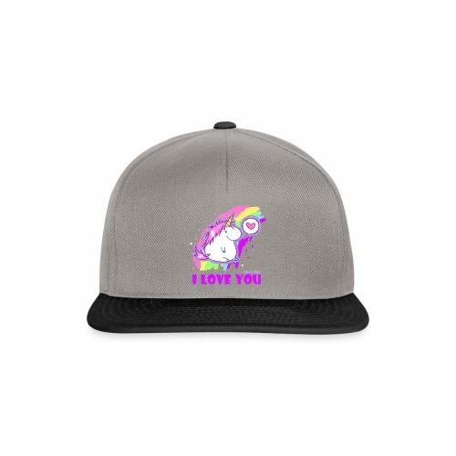 unicorn_love - Snapback Cap