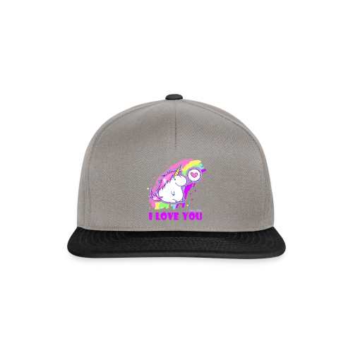 unicorn_love - Snapback Cap