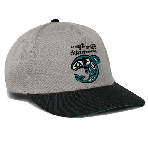 Just KEEP Swimming - Snapback Cap