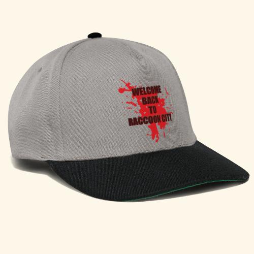 Welcome Back to Raccoon City TEXT 01 - Snapback Cap