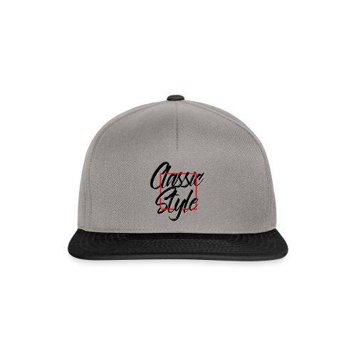 Classic style - Gorra Snapback