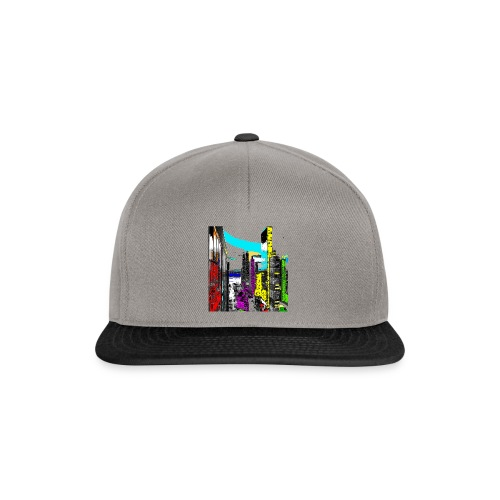 downtown 01a - Snapback Cap