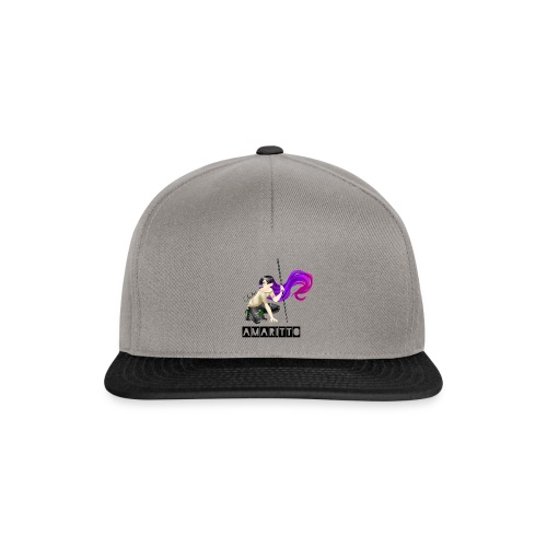 official amaritto logo - Snapback Cap