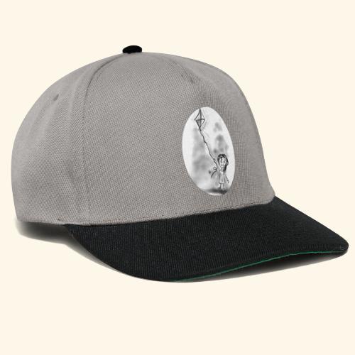 Bambina con aquilone - Snapback Cap
