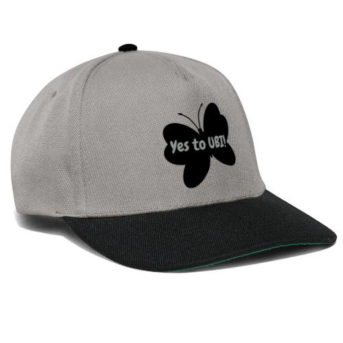 Free as a butterfly. - Snapback Cap
