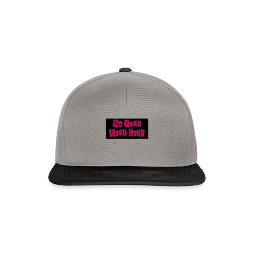 Camiseta Be Your Best Self_Mujer - Gorra Snapback