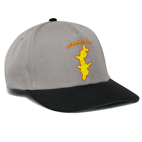 T-shirt, Pizzasalladland - Snapbackkeps