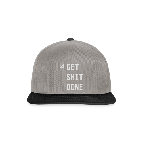 Get shit done - Snapback cap