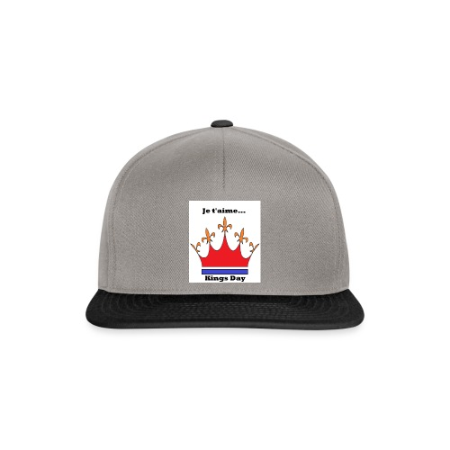Je taime Kings Day (Je suis...) - Snapback cap