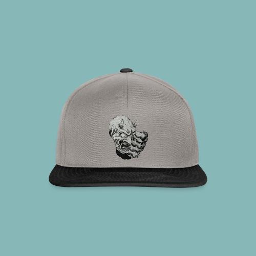 OniTattooSketch - Snapback Cap