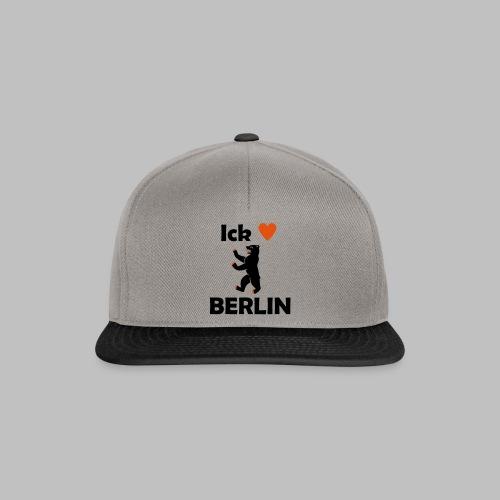 Ick liebe ❤ Berlin - Snapback Cap