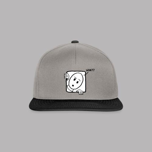 What? - Snapback Cap