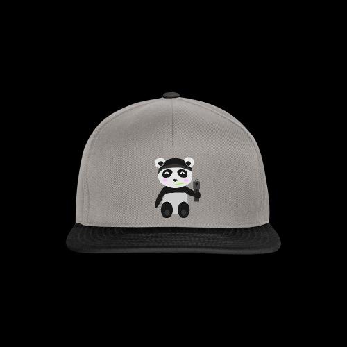 Gangsta-Panda - Snapback Cap