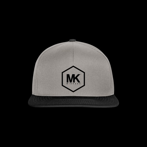 MK LOGO ZWART - Snapback cap