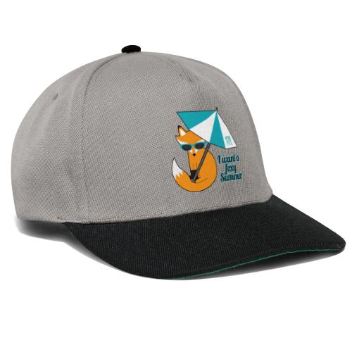 Foxy Summer - Snapback Cap