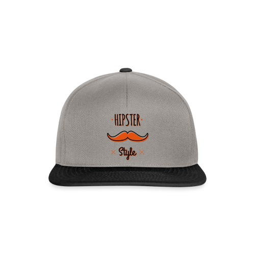 Hipster Style - Casquette snapback