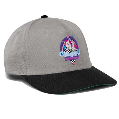 Einhorn mit Girl Power - Snapback Cap