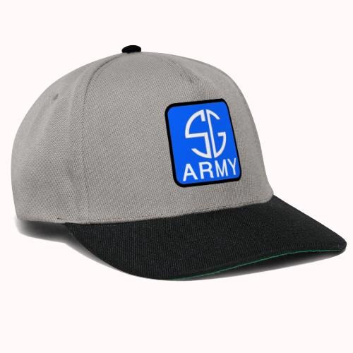 SemGamerArmy logo in box - Snapback cap