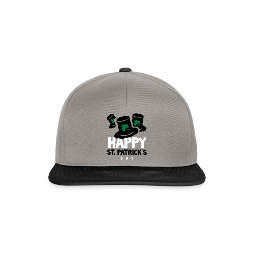 Happy St. Patrick's Bay - Snapback Cap