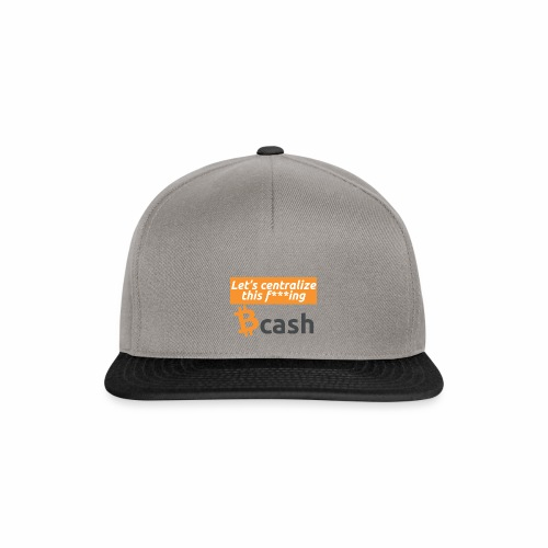 Bcash centralized - Snapback Cap