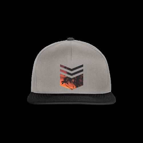 Palm Beach Triangle - Snapback Cap