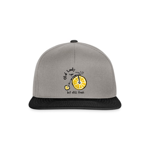 OLD LADY BUT STILL FRESH Textiles and Gifts etc. - Snapback Cap