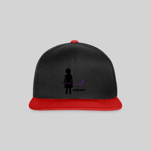 Hockey Girl I - Snapback Cap