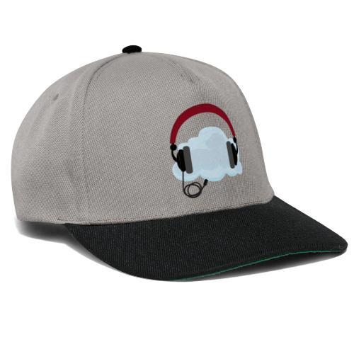 Headphone With Cloud - 21st Century Music Listenin - Snapback Cap