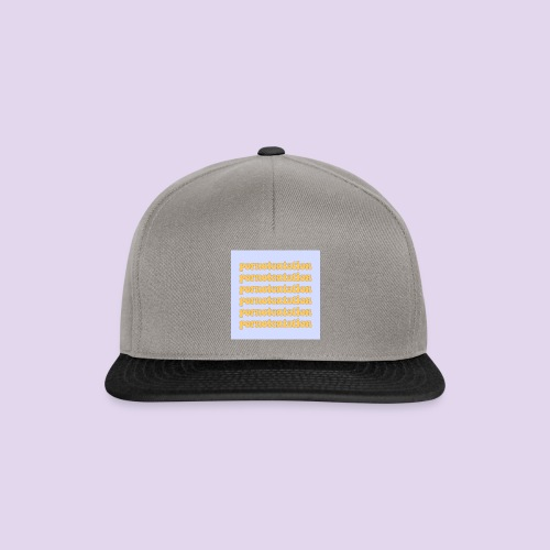 PORNOTENTATION® - Snapback Cap