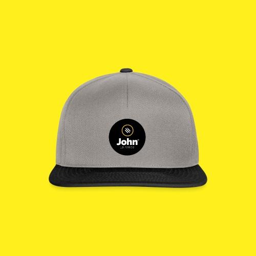 logo john - Gorra Snapback