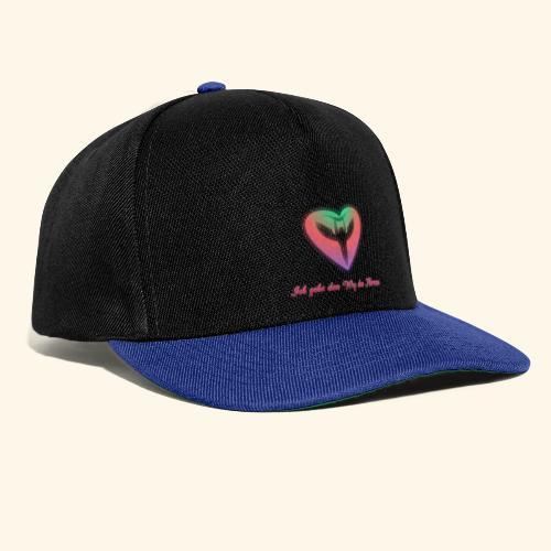 Ich gehe den Weg meines Herzens - Snapback Cap