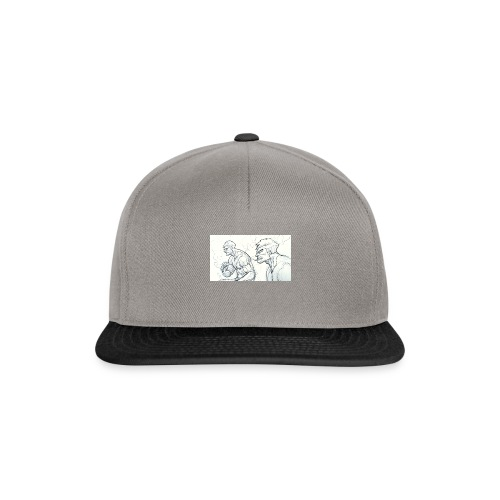Drawing_1-jpg - Snapback Cap