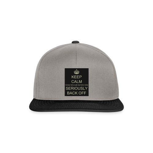 He is mine tanktop - Snapback Cap