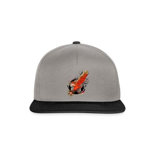Adler mit Deutschland Stern - Snapback Cap