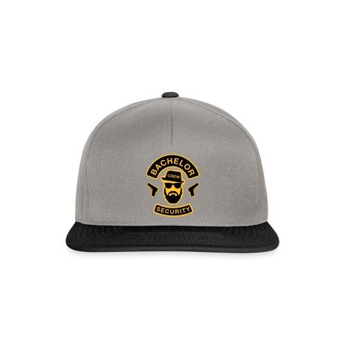 Bachelor Security - JGA T-Shirt - Bräutigam Shirt - Snapback Cap