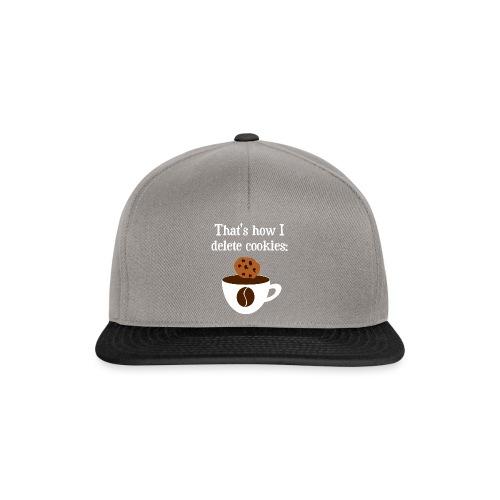 Cookies Kaffee Nerd Geek - Snapback Cap