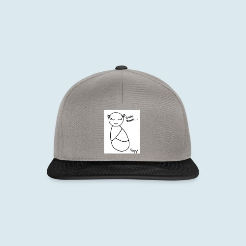 Pupy: ronf ronf... - girl - Snapback Cap