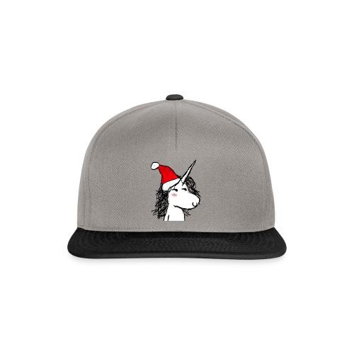 unicorno Natale - Snapback Cap