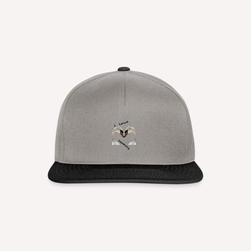I love swans - Snapback Cap
