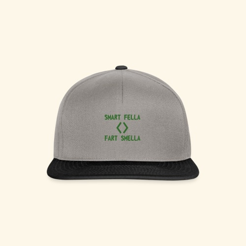 Smart fella - Snapback Cap
