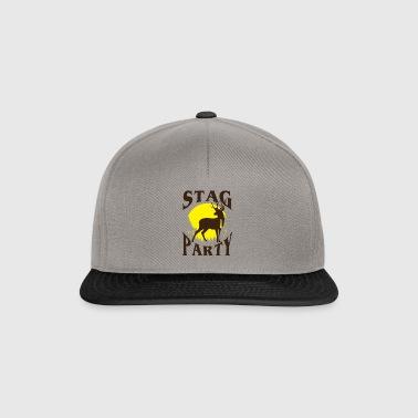 Polterabend mand JGA - polterabend - gave - Snapback Cap