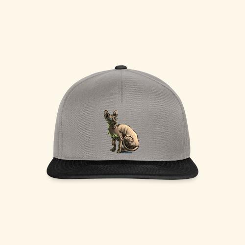 sushi the sphynx cat - Snapback Cap