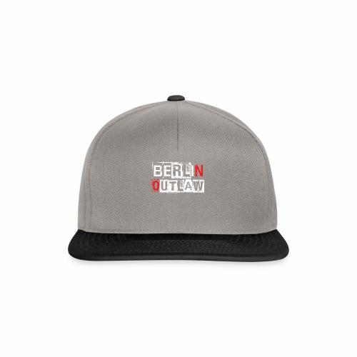 Berlin Outlaw Underground Gangster - Snapback Cap