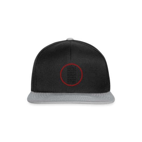 The number Pi - Snapback Cap