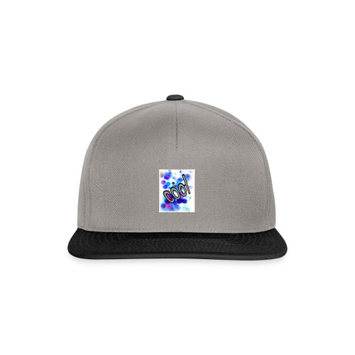 Text Design - 'Cool' - Snapback Cap