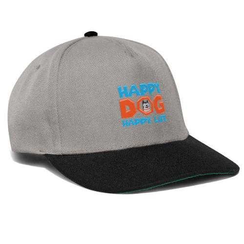 Happy Dog Happy Life - Snapback Cap