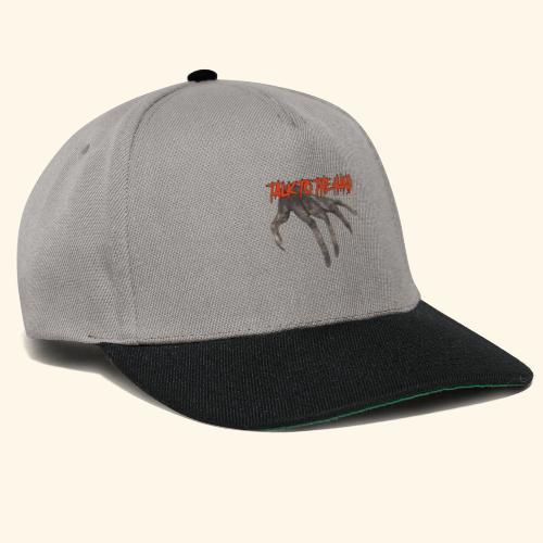 Talk To The Hand - Snapback cap