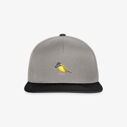 Vogel mit Gasmaske - Snapback Cap