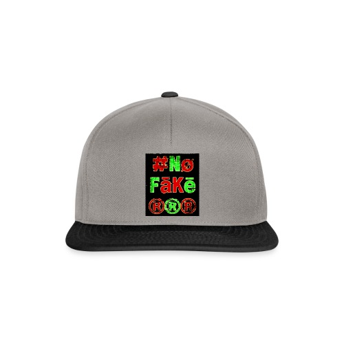 Logo Nø fākē collection - Casquette snapback