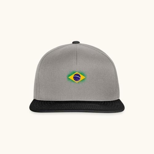 Drapeau brésilien cadeau du Brésil - Casquette snapback